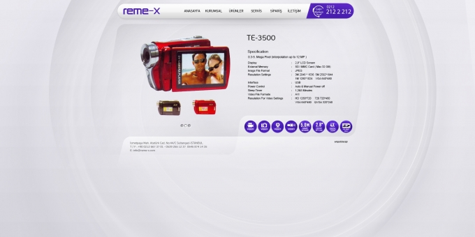 REME-X DIGITAL CAMERA